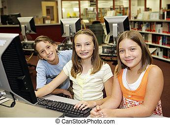 klassenzimmer, computer