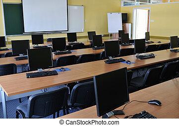 klassenzimmer, edv