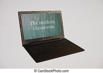 klassenzimmer, modern