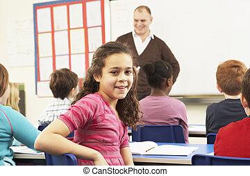 klassenzimmer, studieren, lehrer, schulkinder