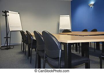 klassenzimmer, zimmer, modern, schnellen, versammlung, oder...