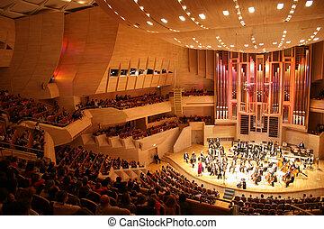 klassiek concert, 2, orkest
