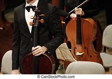 klassiek concert, muziek