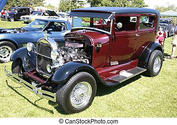 klassieke auto, 89