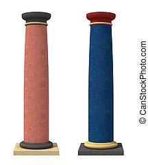 klassiekers, colred, kolommen