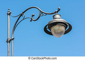klassisch, altes , straße lampe