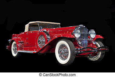 klassisch, antikes auto