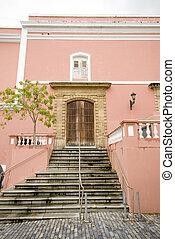 klassisch, architektur, in, puerto rico