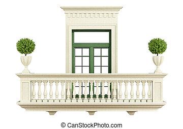 Brustung Klassisch Balkon Clipart Und Stock Illustrationen 270