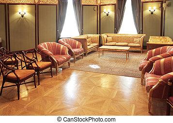 Wohnzimmer Klassisch wohnzimmer klassisch wand sofa grün bilder