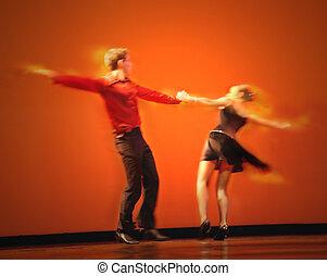 klassisk, dansere