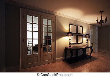 klassisk, interior