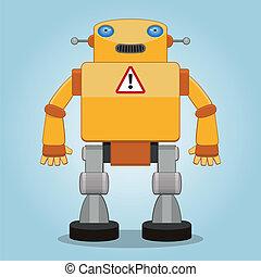klassisk, robot, 2
