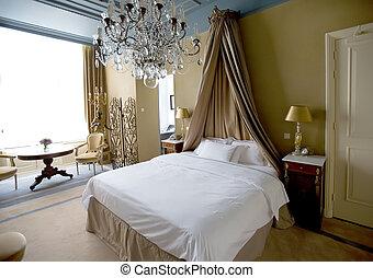klassisk, soveværelse