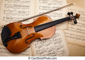 klassisk, violin