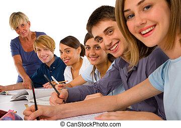klassrum, teenagers