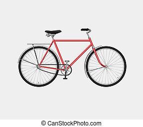 klasszikus, bicikli