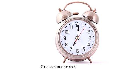klasyczny, dzwon alarm zegar