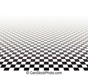 klatkowy, perspektywa, surface.