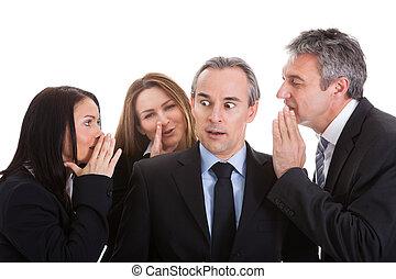 Klatschen, Gruppe,  businesspeople