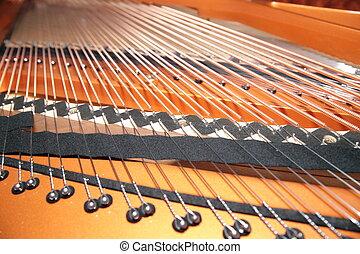 klavier, innenseite