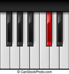 klavier, keys.