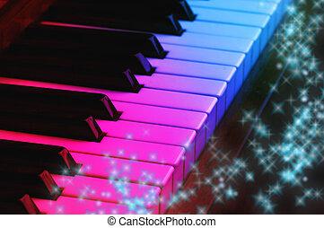 klavier, magisches