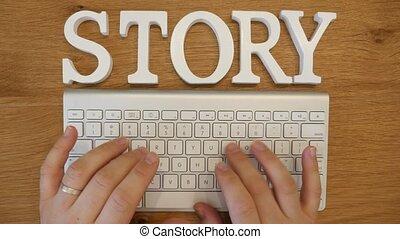 klawiatura, historia, pojęcie, pisanie