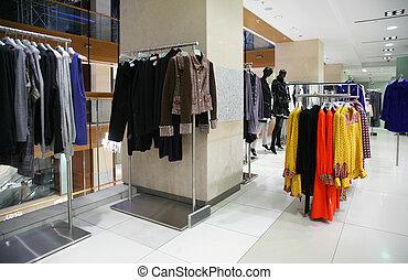 kleding, afdeling