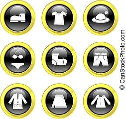 kleding, iconen