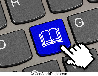 klee, boek, computer toetsenbord