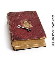 klee, geplaatste, op, bijbel