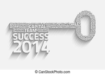klee, succes, woorden, zakelijk