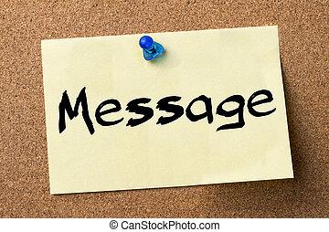 kleefstof, -, etiket, gespeld, plank, boodschap, bulletin