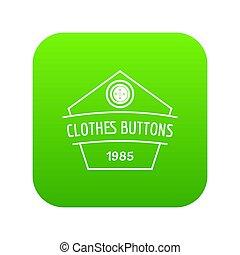 kleiden, taste, kleidung, grün, ikone
