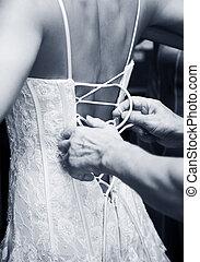 kleiden, wedding