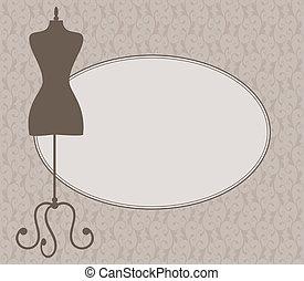 kleiderladen, rahmen