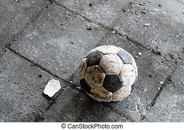 klein, fußball