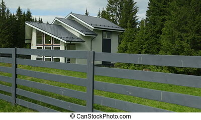 klein huis, enkel, bos