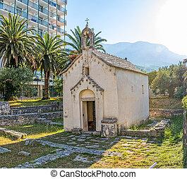 klein, kirche, in, kroatien
