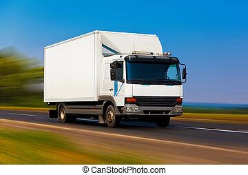 klein, lastwagen