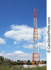 klein,  Mast, Luftaufnahmen, Dorf