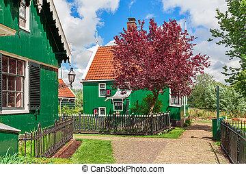 klein, niederländisch, village.