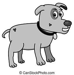 klein, profil, hund