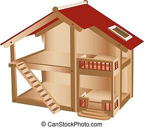 puppenhaus stock illustrationen 135 puppenhaus clipart bilder und lizenzfreie illustrationen. Black Bedroom Furniture Sets. Home Design Ideas