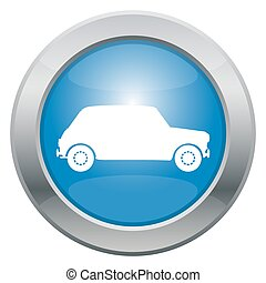 kleine auto, pictogram