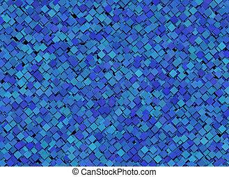 kleine, blauwe , abstract, pleinen, achtergrond