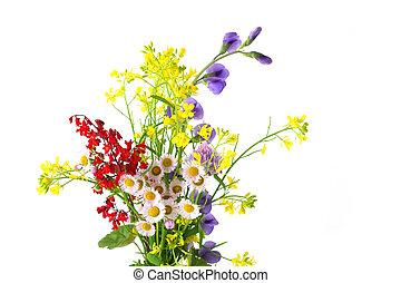 kleine, bloemen