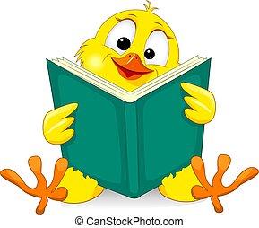 kleine, kuiken, boek