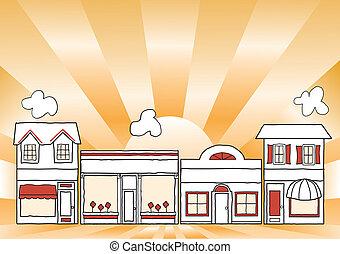 kleine onderneming, hoofdstraat